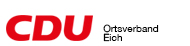 CDU Ortsverband Eich Logo